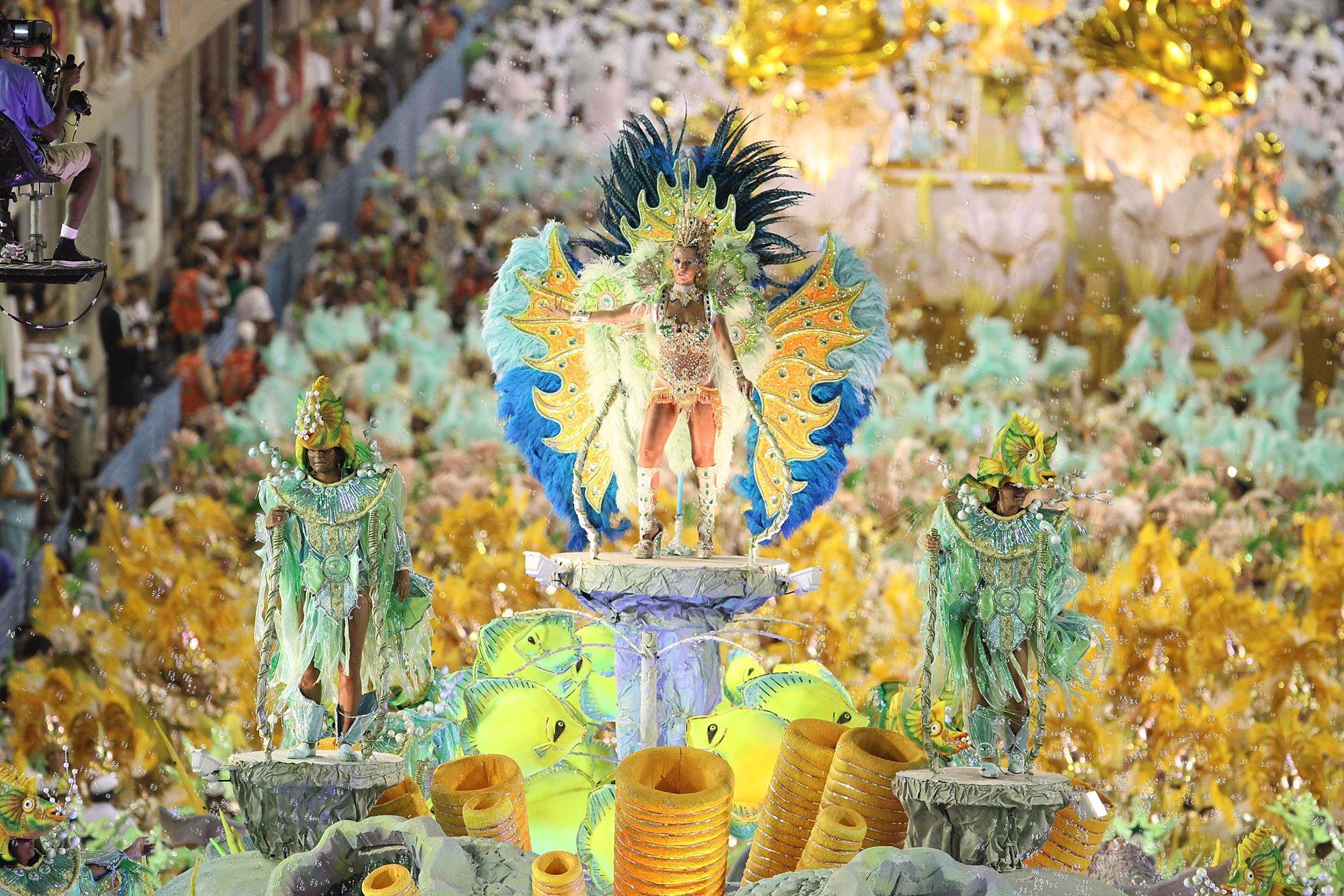 Carnaval de Rio : o sambadrome