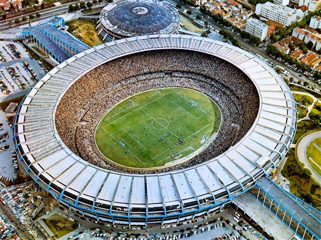 Estádio Maracanã no Rio de Janeiro