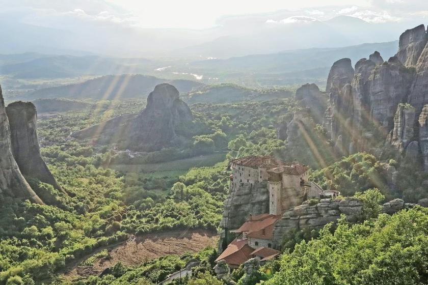 montanha férias troca de casa férias grécia metéora montanha